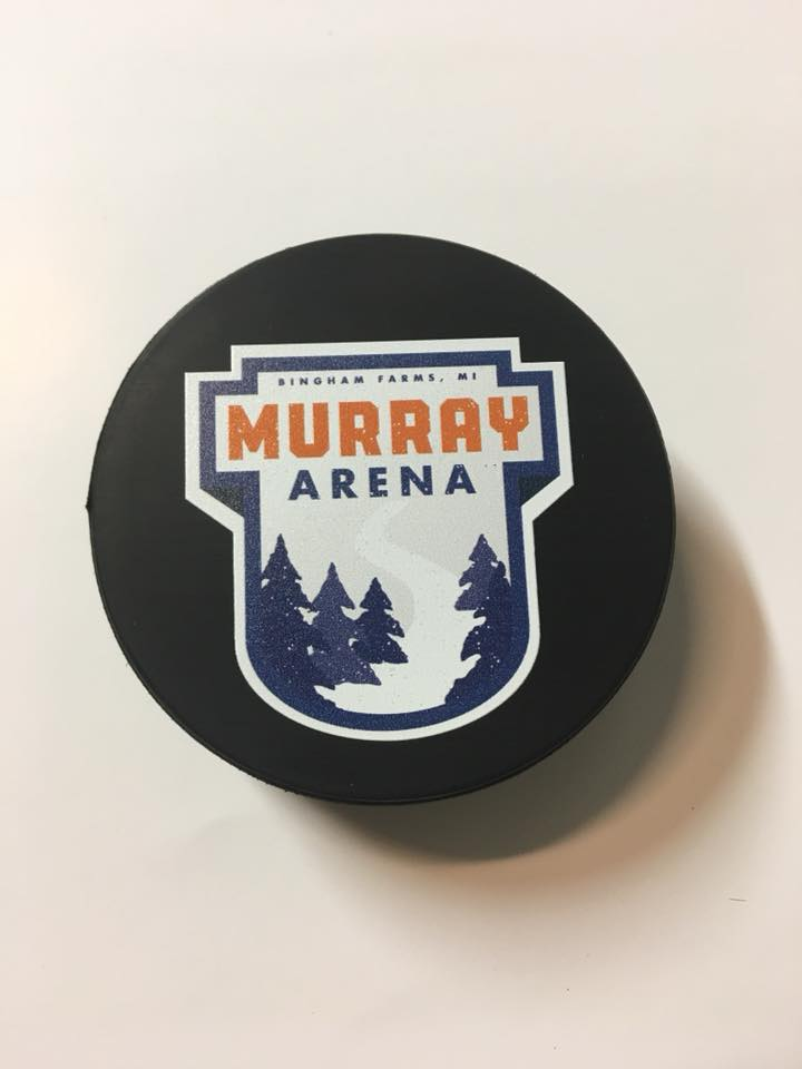 Personalized-hockey-puck-Promotion