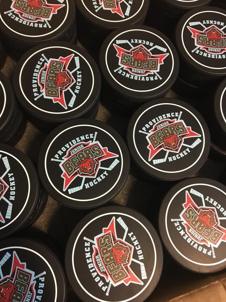 Personalized-hockey-puck-Canada